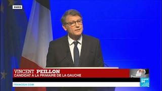 REPLAY - Primaire de la gauche - Discours de Vincent Peillon qui ne donne aucune consigne de vote