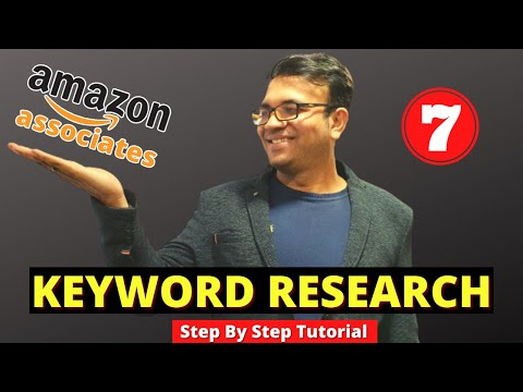 Keyword Research Tips for Amazon Affiliate Marketing Sites in 2021 -Competition Keywords Analysis #7