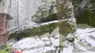 preview picture of video 'Angelstein im Winter'