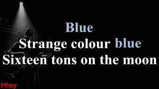 Madrugada   Strange Colour Blue (Alt Version) Lyrics