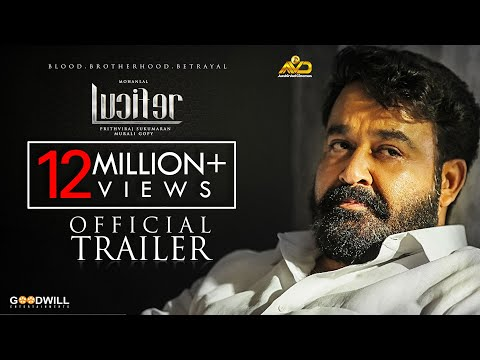 Lucifer Official Trailer - Mohanlal, Prithviraj