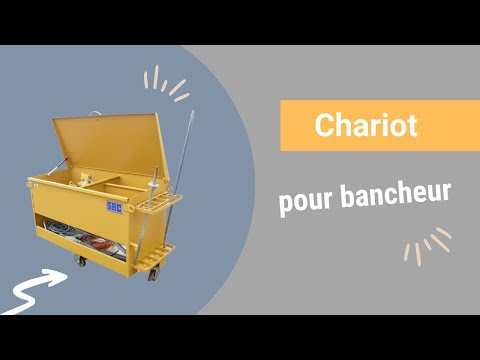 Video Youtube Chariot pour bancheur