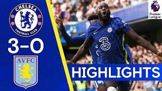 Chelsea 3-0 Aston Villa | Lukaku nets twice on his Stamford Bridge return🔥 | Highlights