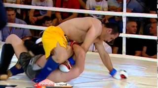 2013 European MMA Championship - Taleh Nadzhafzade vs. Francesco Moricca