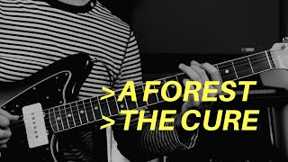 A Forest by The Cure   Guitar Lesson