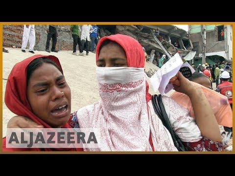 🇧🇩 Bangladesh factories still unsafe five years after 1,100 killed in collapse | Al Jazeera English