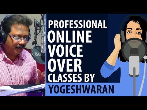 WOW 😍 Online Voice Over Class in Tamil |🎙Voice Over Classes Yogeshwaran | Dubbing | Useful Minutes