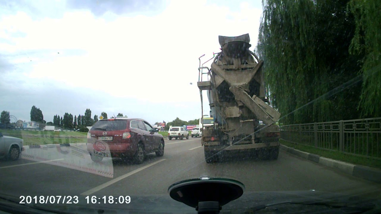 Женское ДТП в Воронеже