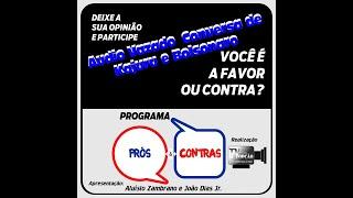 Programa Prós & Contras-Audio Vazado Entre Kajuru e Bolsonaro