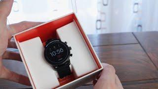 Die Smartwatch für Jedermann? Fossil Q Explorist HR (Gen. 4) - Unboxing und Einrichtung