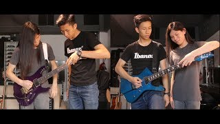 DragonForce - Valley of the Damned (Live) Guitar Cover .feat. Leo Poon