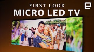 Samsung Micro LED TVs First Look at CES 2019