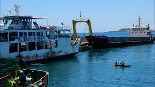 ルソン島からサマール島へフェリー船上から