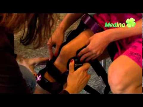 Masaż dla stóp koślawego
