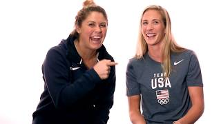 Team USA Insider | Q&A With Elizabeth Biesel & Ashley Twichell