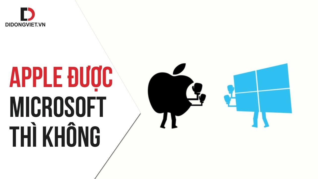 Vì sao Apple Store thành công, còn Microsoft thất bại sấp mặt?