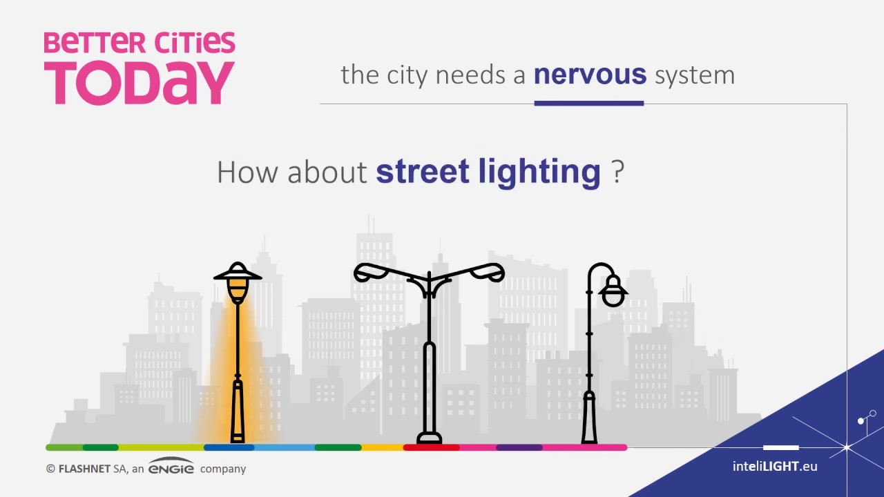 inteliLIGHT - intelligent street lighting remote management & smart city platform