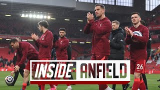 Inside Anfield: Unseen footage from the last day of the season   Liverpool vs Crystal Palace