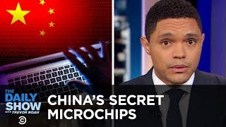 China Puts Microchips Into U.S. Hardware & Chick-fil-A Unveils a Birthday Surprise | The Daily Show