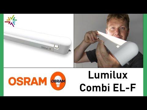 "Lichtleiste ""OSRAM Lumilux Combi EL-F"" [watt24-Video Nr. 91]"