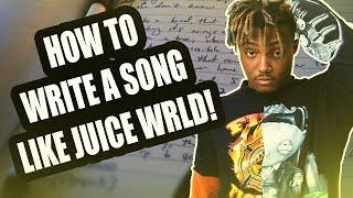 How To Write A Song Like Juice Wrld! (Sad Rap)