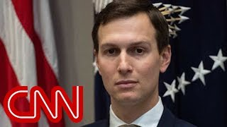 Secret Service agent blocks reporter from questioning Jared Kushner