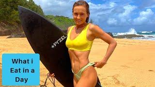 What I Eat As Vegan Pro SURFER | Vegan Enchilada Recipe |