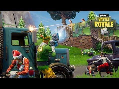 NEW FORTNITE WINTER UPDATE COMING TOMORROW! (Fortnite Battle Royale)
