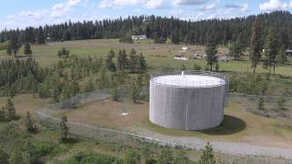 360 degree view of water tank