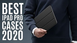 """Top 10: Best iPad Pro Cases for 2020 / 12.9"""" iPad Pro Cover with Auto Sleep/Wake & Pencil Holder"""