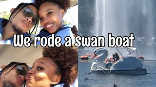 Echo Park Swan Boats In LA | Date Day | FUN During A Pandemic