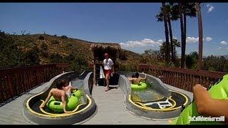 [HD POV] Dark Hole Water Slide - POV Water Slide - Water Park - Raging Water