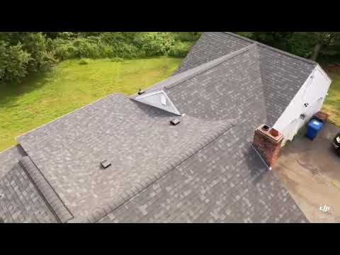 This roof was replaced with a full GAF Lifetime Shingle!