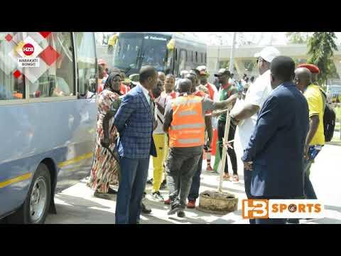Utata..!! Angalia Burundi walivyoingia uwanjani kwa ulinzi mkali wa Makomandoo
