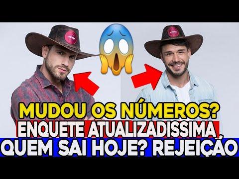MUDOU? Enquete ATUALIZADA 14/11 já mostra quem irá sair hoje Guilherme ou Lucas? (A FAZENDA 2019