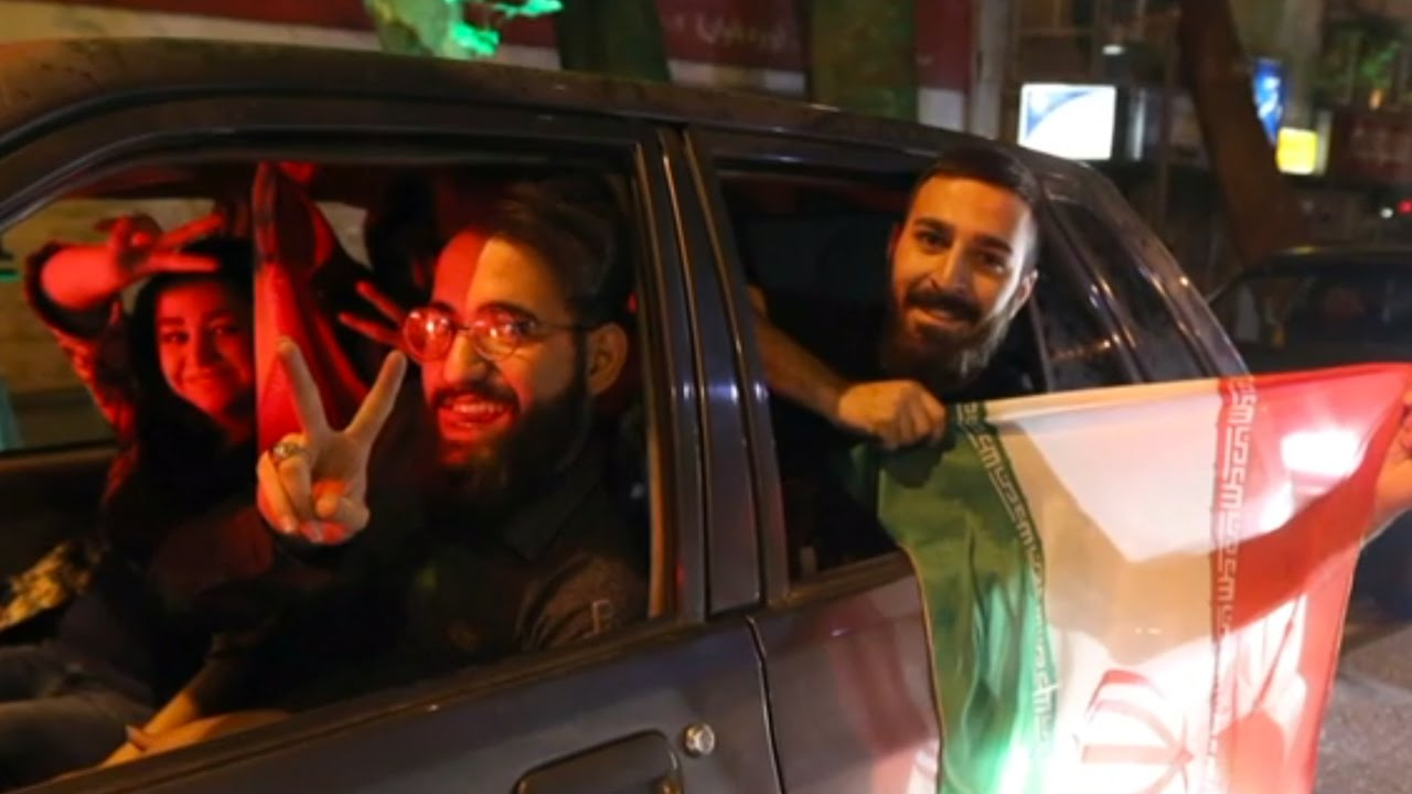 Selfies And Joy In Iran Over Nuclear Deal thumbnail