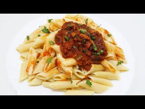 Macaroni na mchuzi wa tuna tamu sana – Mapishi rahisi