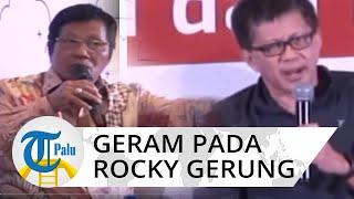 Ketua Apindo Geram dan Potong Bicara Rocky Gerung karena Terus Kritik Carut Marut Pemerintahan