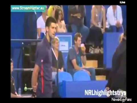 Những khoảnh khắc hài hước nhất của Novak Djokovic - phần 1