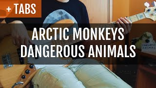 Arctic Monkeys - Dangerous Animals (Bass Cover with TABS!)