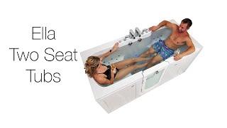 Ella Two Seat Tubs Video