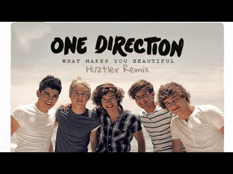 One Direction - What Makes You Beautiful (Huztler Remix)