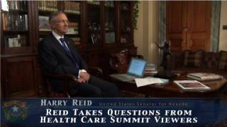 Reid: Health care rights, costs, more - Answering Your Questions
