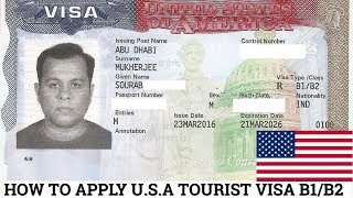 HOW TO APPLY FOR U.S.A TOURIST VISA FROM ANY COUNTRY | 2019 | USA VISA FROM INDIA