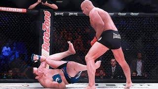 Обзор боя Федор Емельяненко против Чейла Соннена / Все закончилось в первом раунде