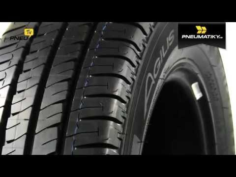 Youtube Michelin Agilis+ 195/75 R16 C 107/105 R GreenX Letní