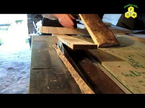 Изготовление прилётной доски