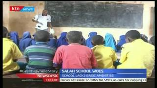 Salah school teachers protest deplorable conditions