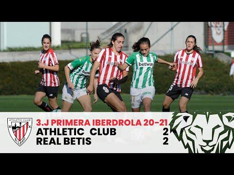 ⚽ Resumen I Athletic Club 2-2 Real Betis I J3 Primera Iberdrola 2020-21 I Laburpena