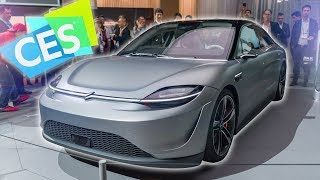 Dope Tech of CES 2020: Sony Made a Car?